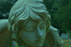 Contemplative Angel by Teri Leigh Teed