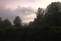 Sunset View, Scenes from the Blue Ridge Mountains by Teri Leigh Teed