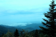 Blue Ridge Parkway View from Waterrock Knob by Teri Leigh Teed
