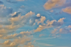 Pastel Angel Cloud Skies by Teri Leigh Teed