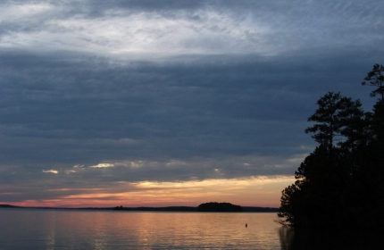 Closing of the Day, Lake Monticello by Teri Leigh Teed