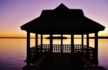 Thanksgiving Day Sunset, Lake Murray SC